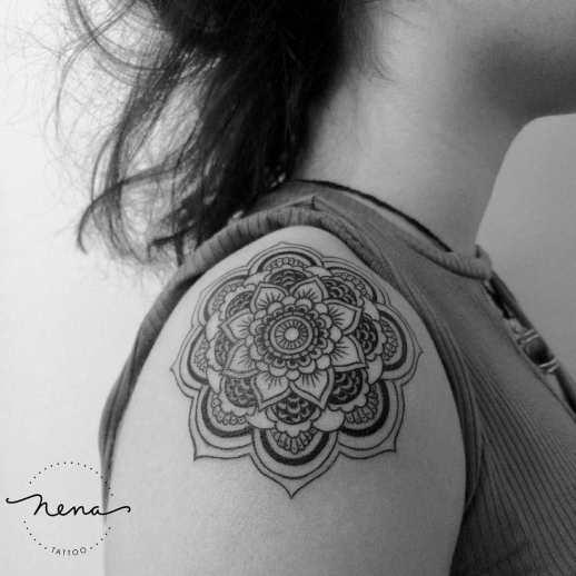 Mandala por Nena Tattoo