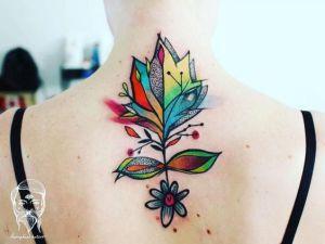 Planta con hojas por Bumpkin Tattoo