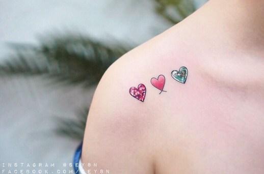 Corazones de diamante por Seyoon Kim / 김세윤 (@sey8n)