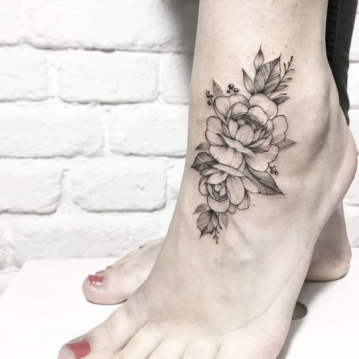 Flores por Terryemi Tattoo