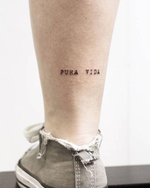 Frase: Pura Vida