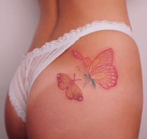 Mariposas por Yuuz Flower