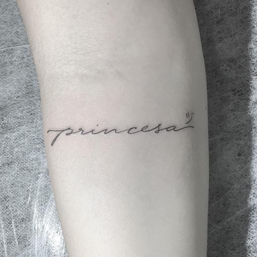 Frase: Princesa por Thiago Marcilio