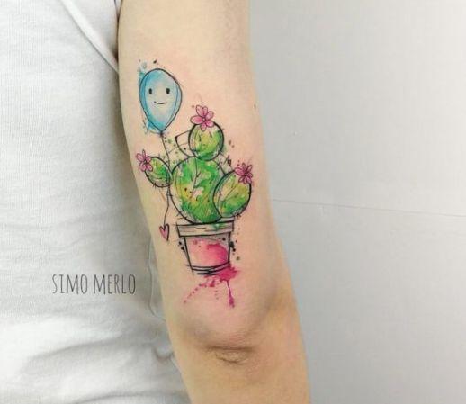 Cactus en maceta por Simona Merlo