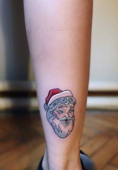 Papá Noel en Navidad