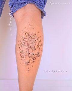 Árbol de la vida por Ana Abrahão
