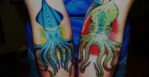 tatuaje pulpo
