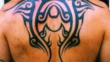 Tatuaje Tribal En La Espalda Tatuajesxd