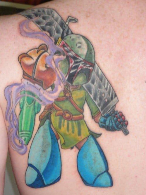 Ultimate geek tattoo