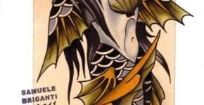 tatuaje sirena