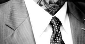 Tattoo man neck