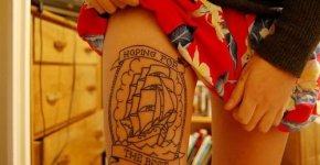 Boat Tattoo