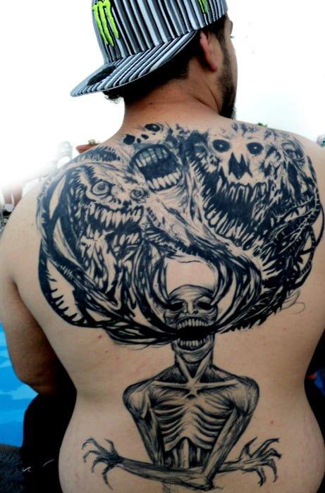 Tatuaje demonios