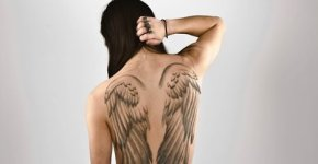 tattoo alas de angel