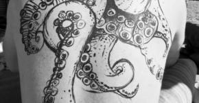 tentacles tattoo