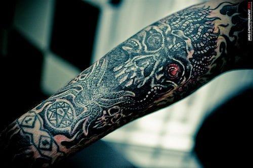 demons tattoo