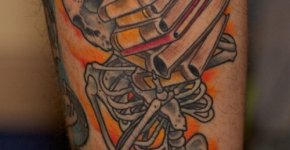 tatuajae calavera
