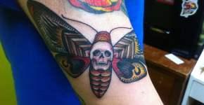 tatuaje polilla