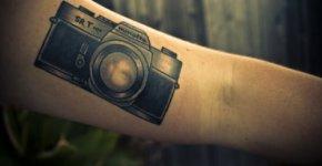 Minolta tattoo