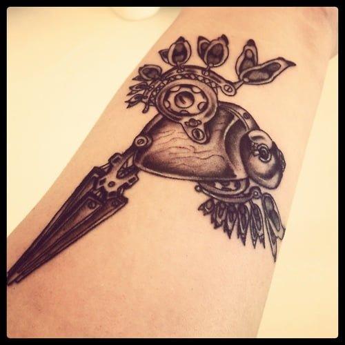 clockwork tattoo