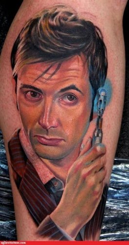 Tattoo Doctor Who