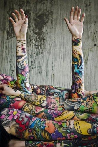Arte tatuaje
