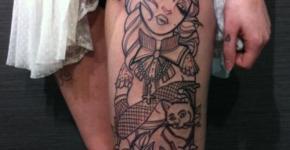 Cats tattoos Needles