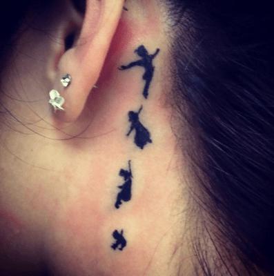 tatuaje Peter Pan
