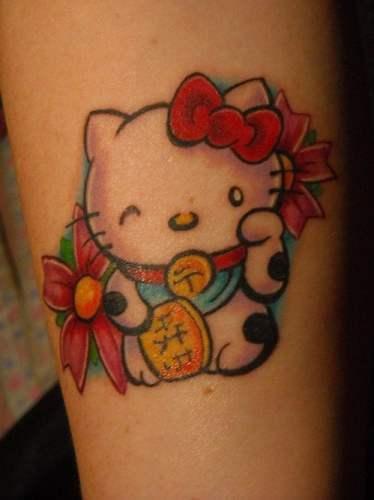 Hello Kitty Tatuajes