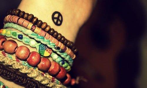 tatuaje de la paz