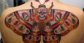 Tattoo moth