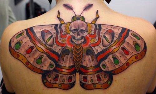 Tattoo moth