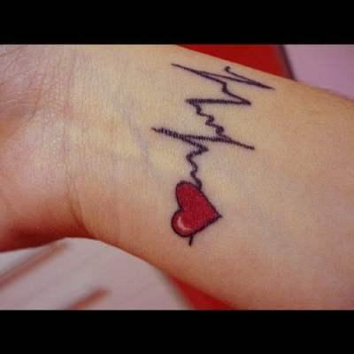 in love tattoo