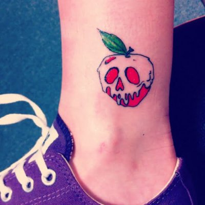 Apple Snow White tattoo