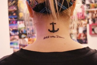 anchor tattoo for girls