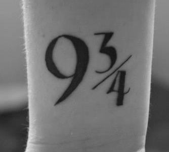 Tatuaje Harry Potter