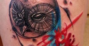 Tatuaje Búho original