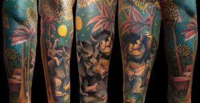 Where the Wild Things Are tattoo