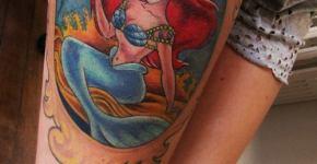 Little marmaid Tattoo