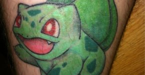 Bulbasaur tattoo