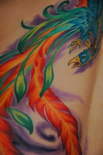 Tatuaje ave fenix