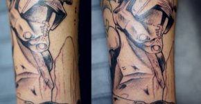 Tatuajes de Star Wars Commander Cody