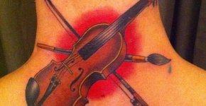 tatuaje amor a la música