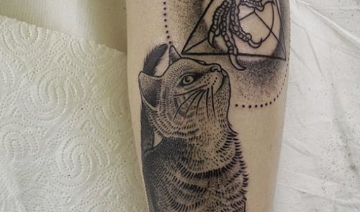 Cat Tattoos Valentin Hirsch