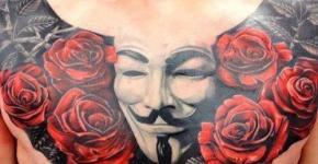 Tatuajes V for Vendetta