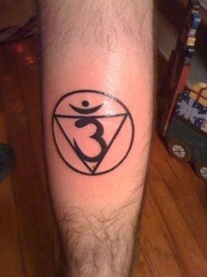 Tatuaje Chakra de la mente