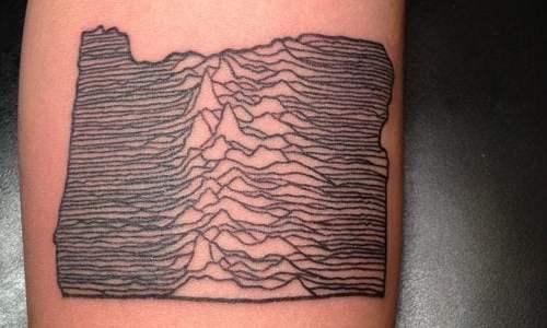 Joy Division Tattoo