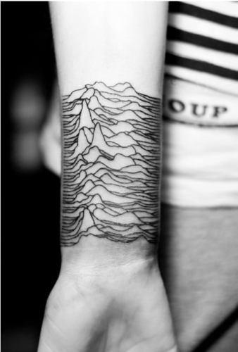 Joy Division tattoos