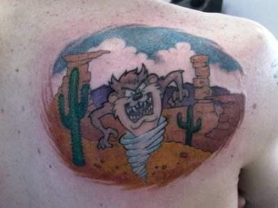 Tatuaje Taz