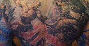 Tatuaje God of War